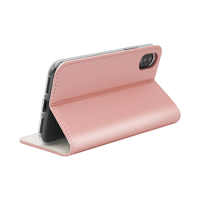Smooth pure pu leather case