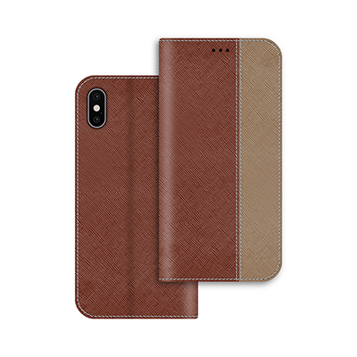 brown pu leather case