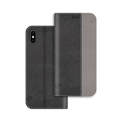 gray pu leather case