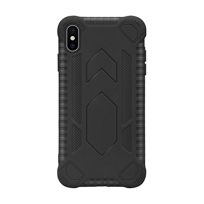 black anti-fall TPU phone case