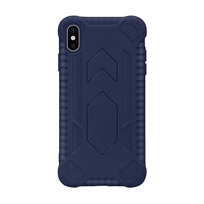 blue anti-fall TPU phone case