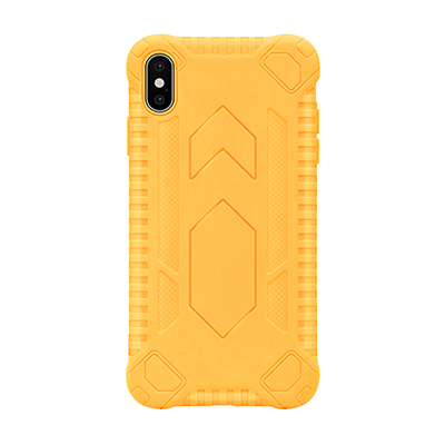 yellow anti-fall TPU phone case