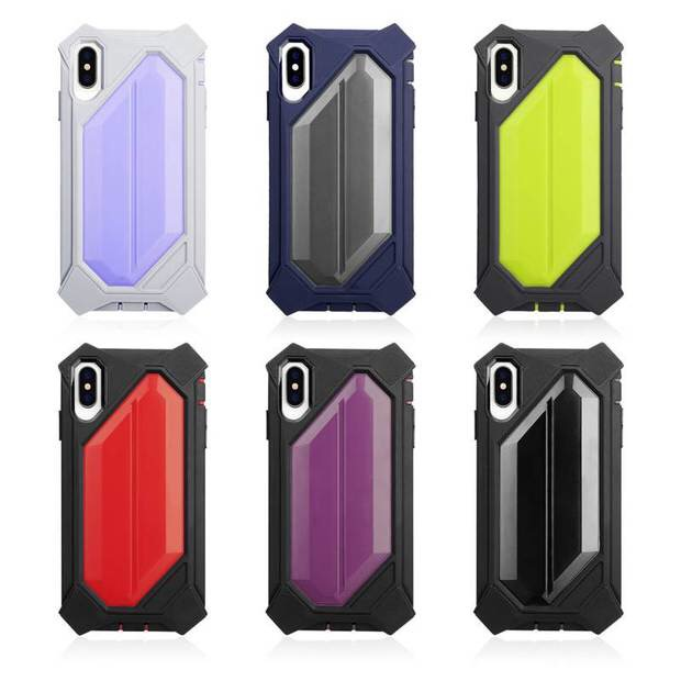 colorful hybrid phone case