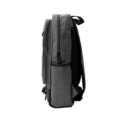canvas and pu leather backpack