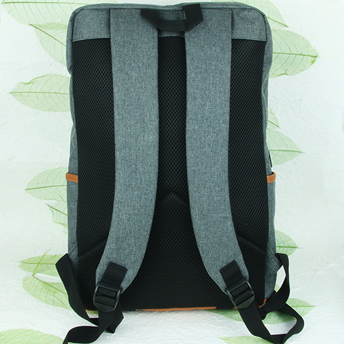 Multi-space laptop backpack