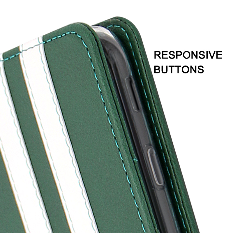 phone case with responsive buttons