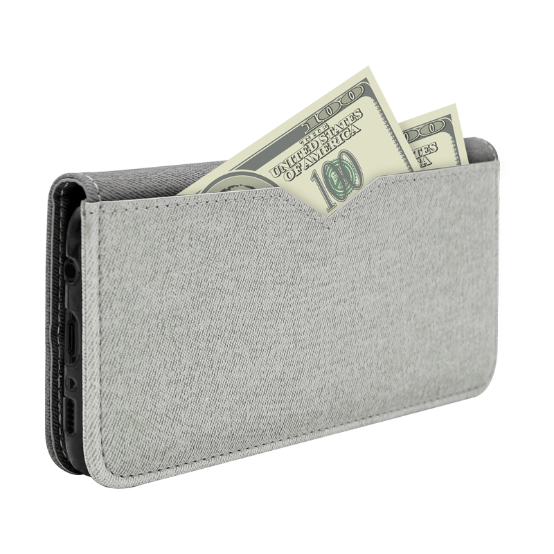 wallet leather case for sumsang