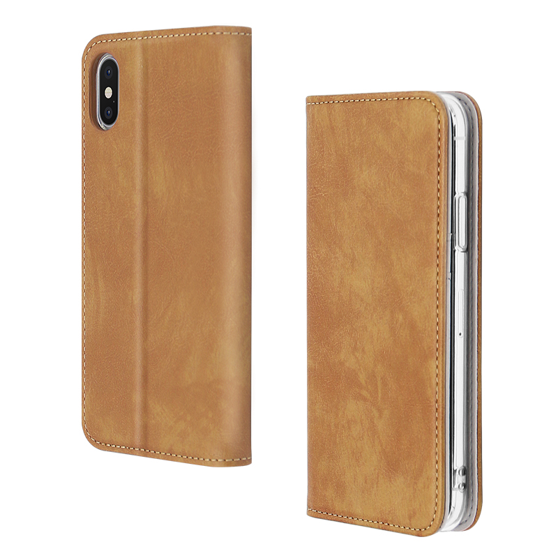 Magnetic Mobile Phone Case For IPhone X/XS With Card Slots
