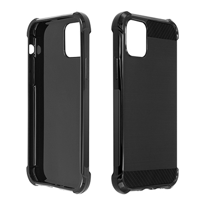 Pure black phone case for iphone 11