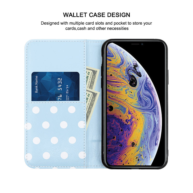 flip case with card slots