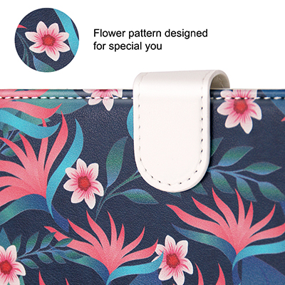 flower pattern flip case