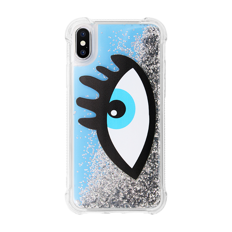shining quicksand phone case