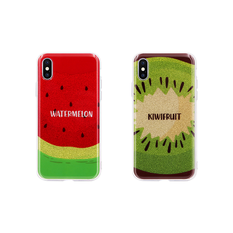 cute cartoon fruit pattern case