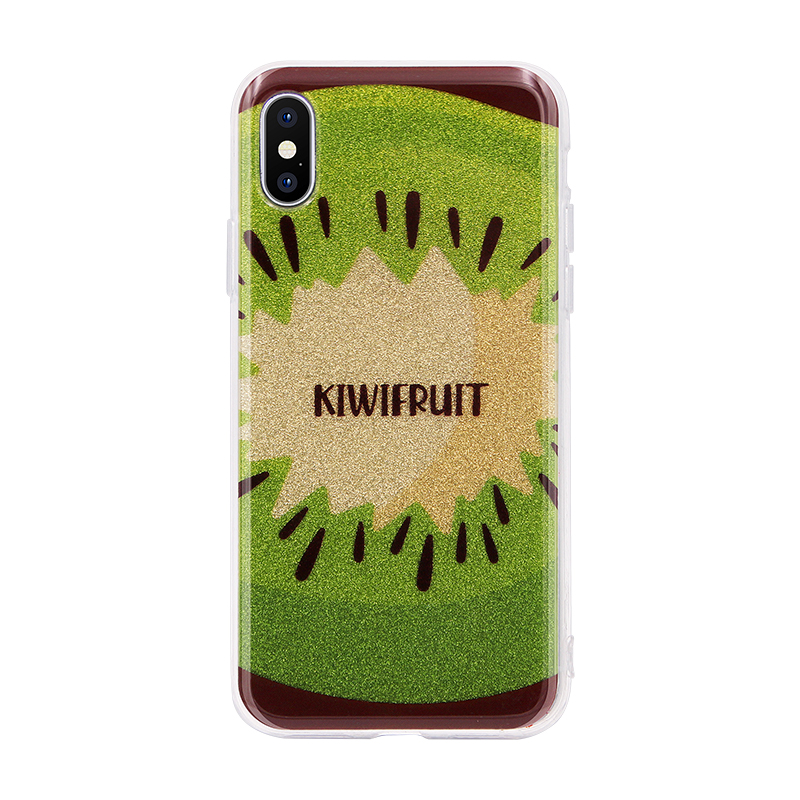 kiwifruit glitter powder IMD case