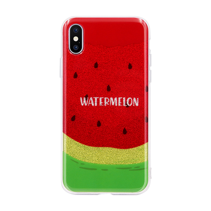 watermelon glitter powder IMD case