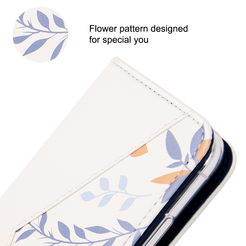 plant pattern folio case