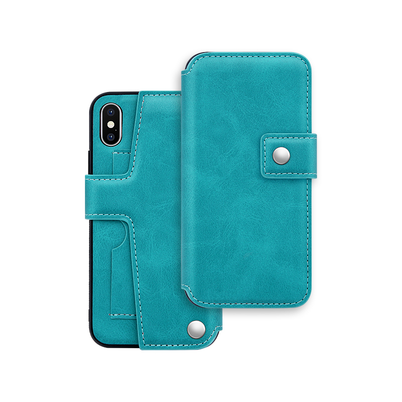 functional PU leather folio case