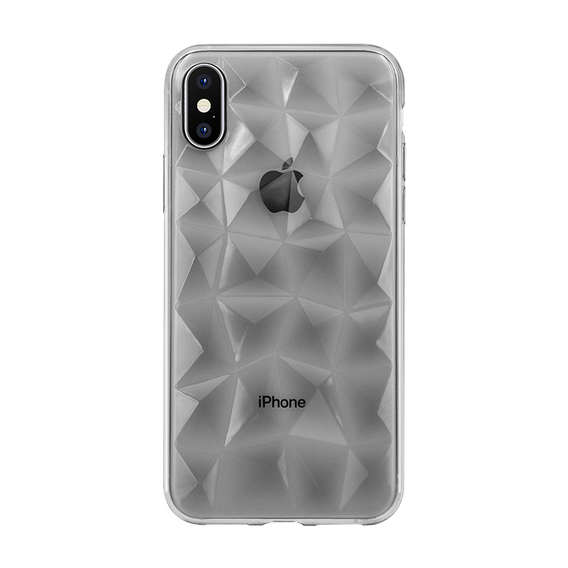 grey TPU phone case