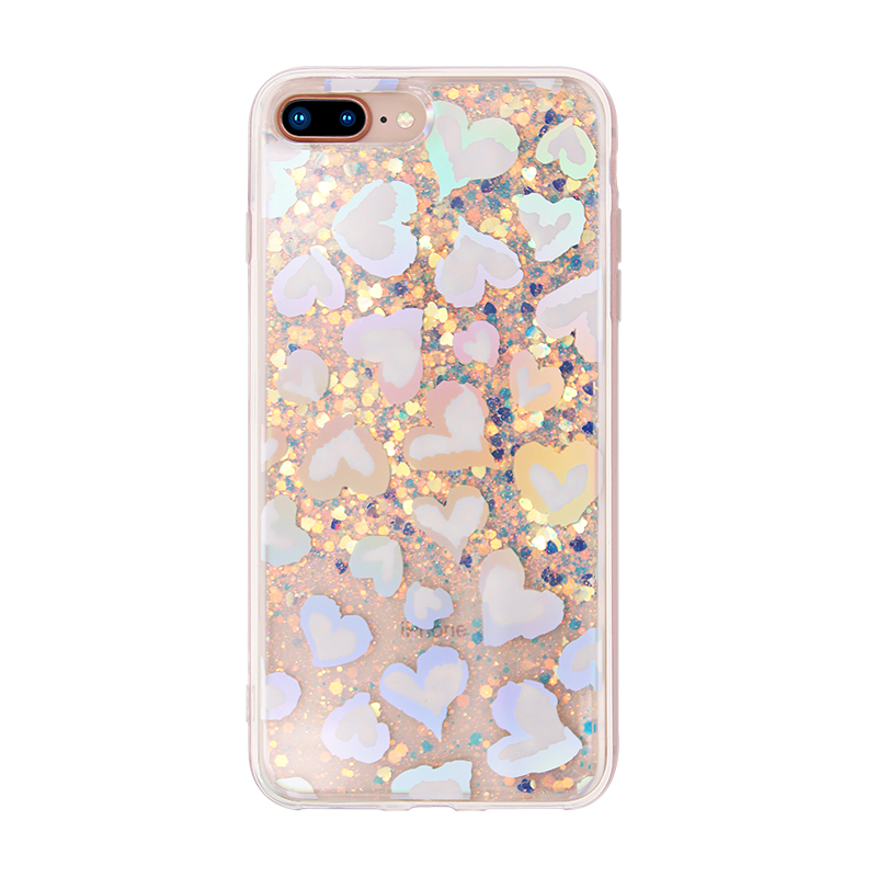heart pattern laser IMD case