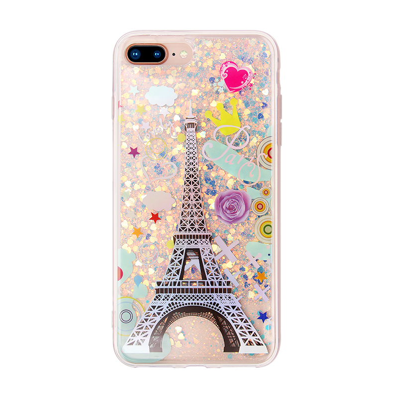 Eiffel Tower drop glue case