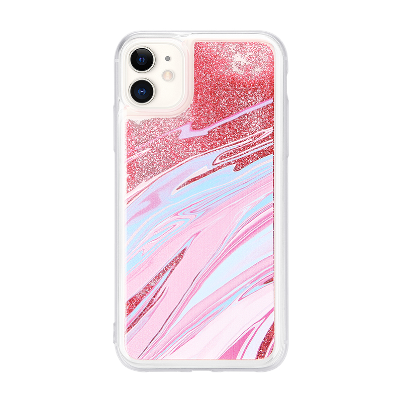 UV printing quicksand phone case