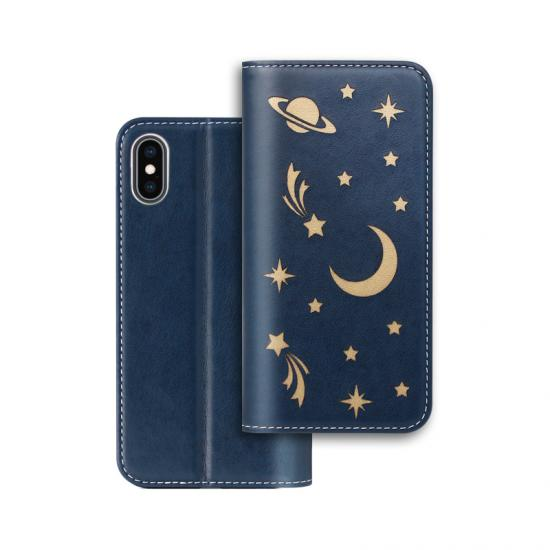 flip PU leather case with card slot