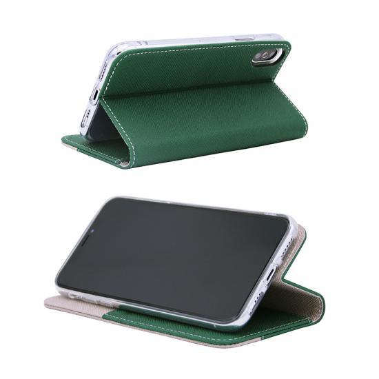 flip PU leather case with card slots