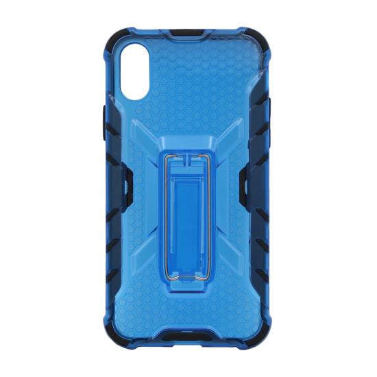 Anti-fall honeycomb pattern bracket phone case