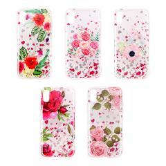 Laser and glitter color patterns IMD phone case