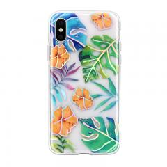 leaves laser color patterns IMD phone case