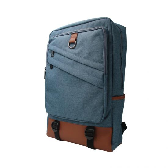 High capacity laptop backpack