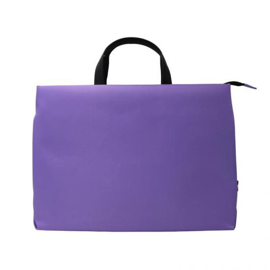 Fashion style polyamide laptop bag with handle