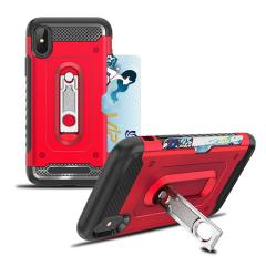 Two in One Standing Hybrid Phone Case