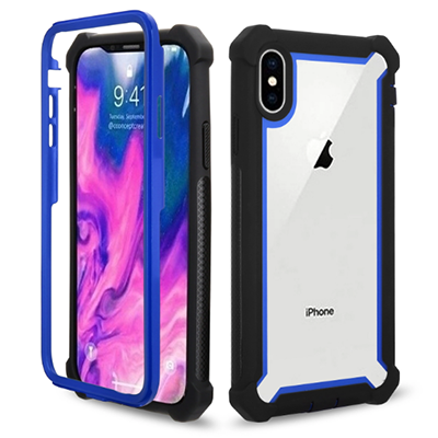 Hybrid anti-fall mobile phone case