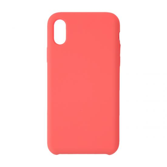 Iphone Pure Color Liquid Silicone Phone Case