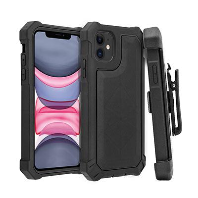 360 degree rolating belt clip swivel phone case for iphone 11