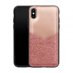 Glitter Powder PU leather case