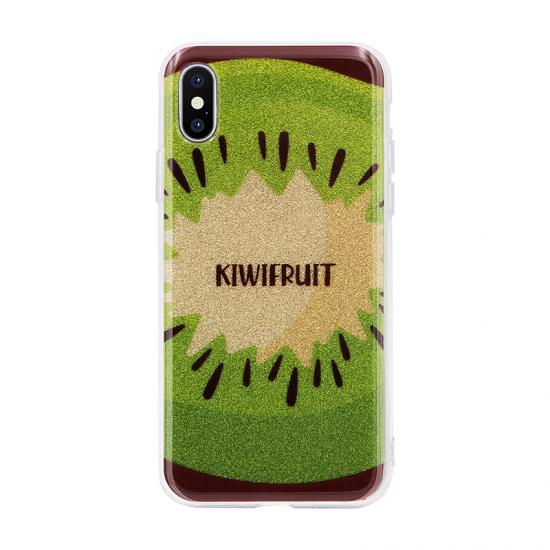 Fruit Pattern Glitter Powder IMD Case