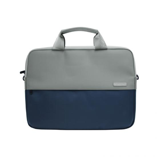 waterproof polyester splicing laptop bag