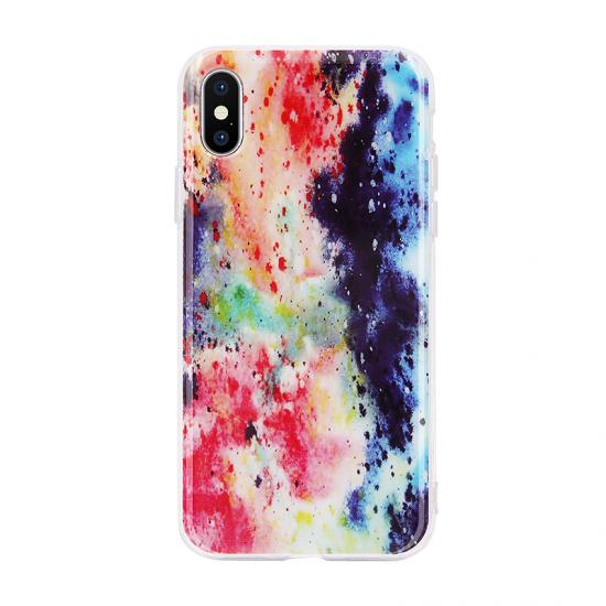 Glitter Powder IMD Phone Case For iPhone X