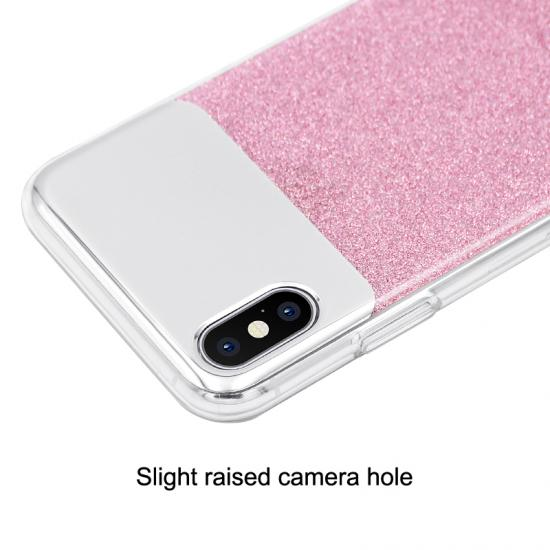 Transparent Sandblasting Silicon iPhone Case