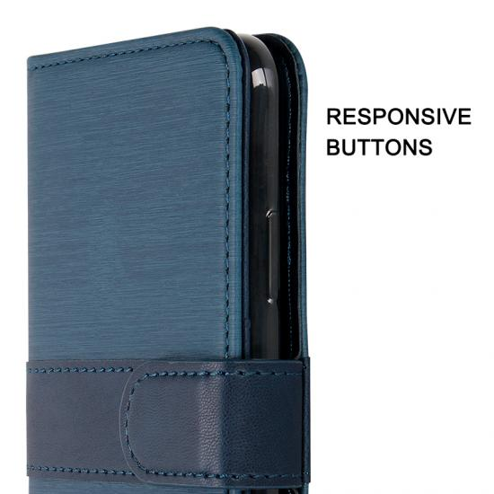 flip PU leather phone case
