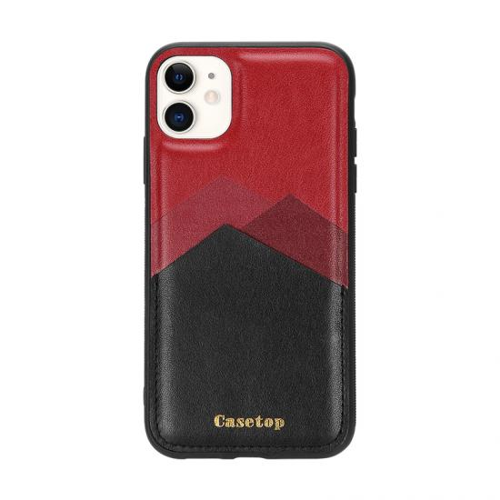 Fashion Impact Color Soft leather PU Phone Case for Samsung