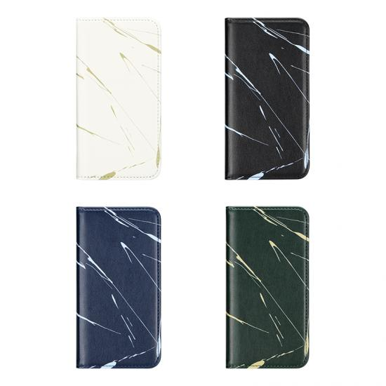 Business Men Marble printed PU leather cell phone wallet phone case