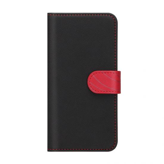 Leather Style iPhone 11 pro Wallet Case - Black