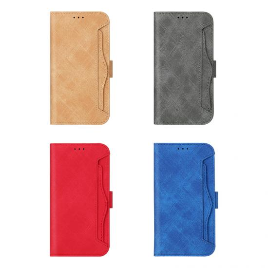 leather credit card money passport cover holder phone case