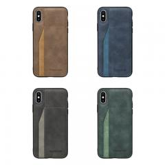 Wholesale Custom Suede phone book case for Samsung galaxy A10