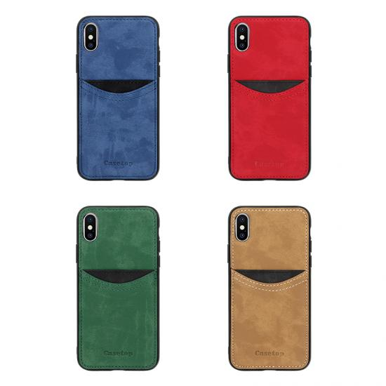 Wholesale Custom Suede phone book cover case for Samsung galaxy A50