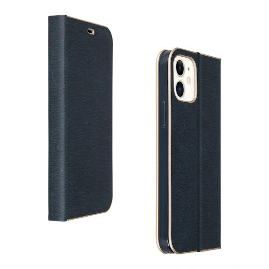 Wholesale Custom Full leather case with golden edge for iPhone 11