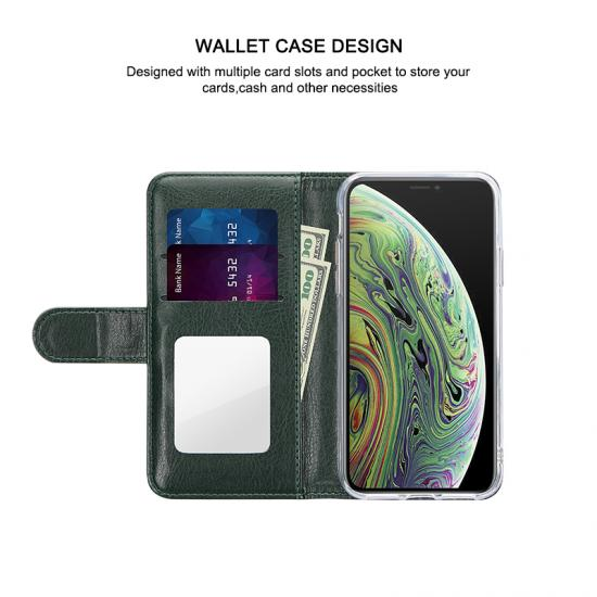 Personalised Leather Credit Card holder PU leather phone case
